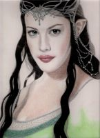 Arwen--Lord of the Rings by PamelaKaye