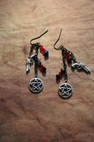 Supernatural Protection Earrings by KouranKiyo