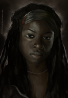 The Walking Dead - Michonne by ArchXAngel20