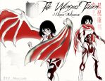 Mikasa Ackerman Titan: the Razor Winged Titan by Omnipotrent