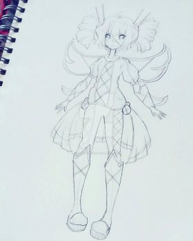 Concept Art Sketch 2 by Candy-Witch