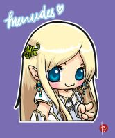 Cuteness Overload: MapleStory Mercedes by yxji