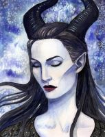 Maleficent by CheshFire