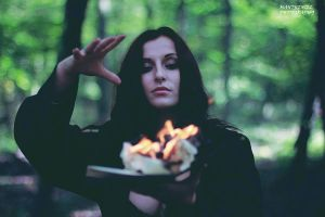 My fire ritual II. by LucreciaMortishia