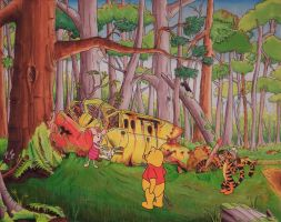 An Unexpected Find in the Hundred Acre Wood by BadFurrday