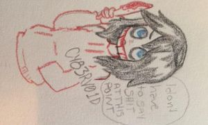 Jeff the killer  by CY83RV01D