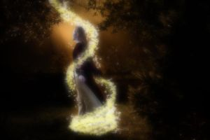 Fairy in the forest by JenniferSpriggs