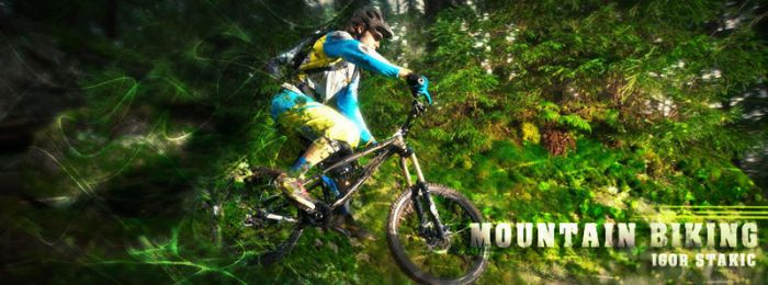 Mountain Biking Facebook COVER by NikCompany