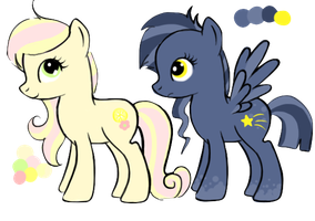 Pony Adoptables 1 [CLOSED!] by Xecax