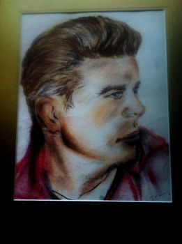 James Dean by SavvyRed