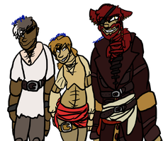 The Pirate's Crew by slycooper11