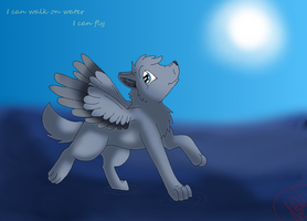 I can walk on water redo by nikkithedog3