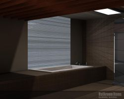 Speed Modelling bathroom by 3DEricDesign