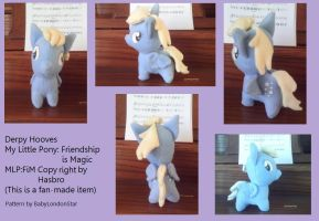 Derpy Hooves Plush by InuMiko6787