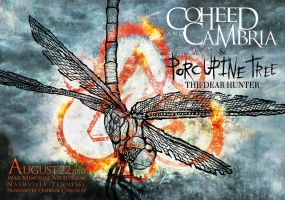 Coheed And Cambria Poster by xzebulonx