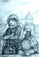 Nino Padlashvili and Ovsanna of Caucasus Alliance by Gambargin