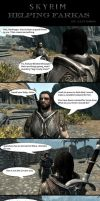 Skyrim Oddities: Helping Farkas by Janus3003