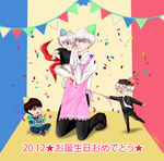 Happy birthday Kaneki and Arima ~~~~~ by obily95
