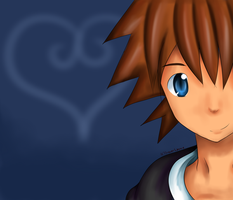 [Kingdom Hearts] Sora 2 by DrawerLynnie