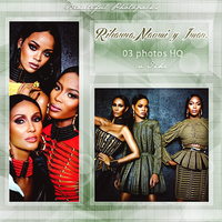 +Photopack Rihanna,Naomi y Iman by AHTZIRIDIRECTIONER