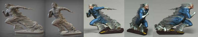 David Giraud quicksilver running by mojette