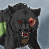 C : Would Scare A Lot Of Crows by Symrea