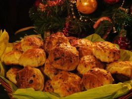 Dill Cottage Cheese Biscuits by Kitteh-Pawz
