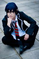Ao no Exorcist: Trouble boy by MadeinPlute