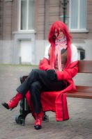 Waiting for Sebas-chan darling by Askgrell