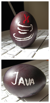 Java easter egg by UkoDragon