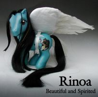 Final Fantasy Rinoa Pony by Barkingmadd