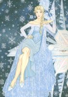 Disney's Frozen: Elsa the Snow Queen by Yamigirl21