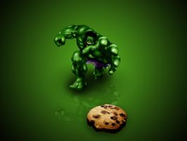 HULK WANT COOKIE by smeetrules