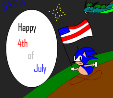 Happy Sega 4th of July by serpenna