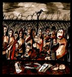 Camp Of The Starving by Manomatul