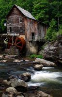 Glade Creek Grist Mill, 2 by jbryson