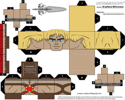 Cubee - He-Man '200X Ver' by CyberDrone