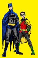 New Batman and Robin by Mbecks14