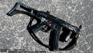Deadpool's MP5 Prop by JohnsonArms