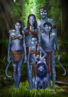 Na'vi Family by ThreshTheSky