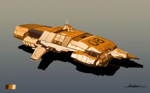 Homewold Style Spaceship by Seeker800