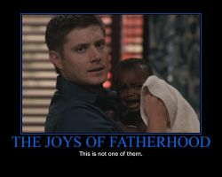 SPN Two and a Half Men by AlmightyPineapple