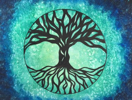 Tree of Life Green by ZombieSharks