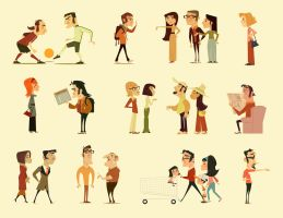 Editorial Characters1 by jamesgilleard