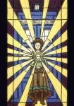 Dr Who: Idris Stained Glass  Window by sqbr