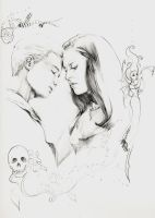 Spike and Drusilla by Smileyrunner