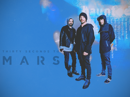 30 Seconds To Mars wallpaper 3 by SaidaGP