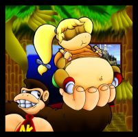 Taffy Kong And Uncle DK. by Virus-20
