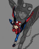 Spider Girl: Falling Before Swinging by riva13