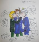 SwissAus and PrusAus - Fighting over Austria by manga-and-bookNERD